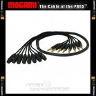 Mogami Gold Analog Fanout Snake - TRS to XLR Female - 5 Foot