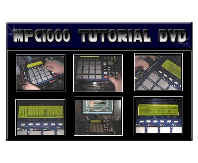 Akai MPC 1000 Tutorial DVD