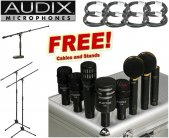 Audix Studio Elite 8 8-piece Studio Mic Package - PLUS BONUS