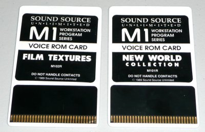 Korg Sound/Voice ROM Cards