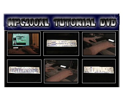 Akai MPC 2000XL 101 Tutorial DVD